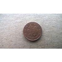 """Германия 1 евроцент, 2004""""G"""". (А-11)"""