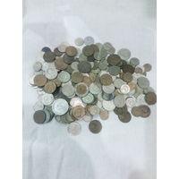 Монеты СССР 1 Килограмм 110 грамм из них 490 Грамм в штемпельном блеске .  Новогодняя распродажа . Аукцион