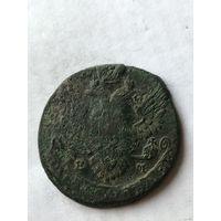 РОССИЙСКАЯ ИМПЕРИЯ 1793 ГОД 5 КОПЕЕК-Е.М.
