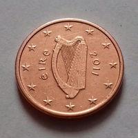 1 евроцент, Ирландия 2011 г., AU
