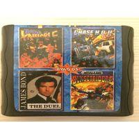 Картридж 4 в 1  - Sega