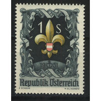 Австрия 1951 Mi# 966 (MNH**)