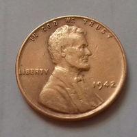1 цент, США 1942 г.