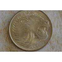 Эфиопия 10 центов 1977 с 1 руб