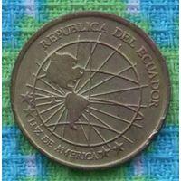 Эквадор 1 сентаво 2000. Милениум. Западное полушарие, Америка. Подписывайтесь! Много новых лотов в продаже!!!