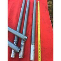 Прочные советские трубки -рукоятки от различных бытовых приборов.вставляются одна в одну для увеличения длинны держателя. цена  за ЛОТ!!!