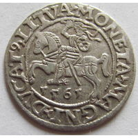 Полугрош 1561 в блеске