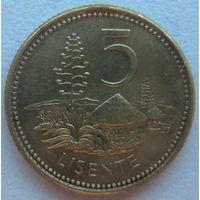 Лесото 5 лисенте 2006 г.