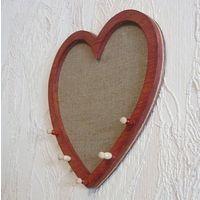 Подвесной органайзер для украшений Сердце