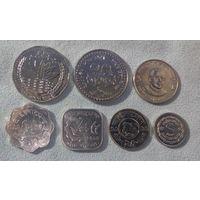 Бангладеш 1974-2010, (7 монет)