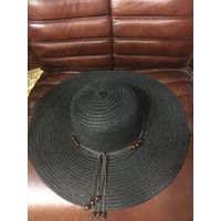 Шляпа 56 НОВАЯ черный