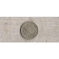 Барбадос 10 центов 1998/фауна/птица/(NS)
