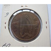Ирландия 1 пенни 1942 - состояние!