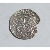Шиллинг 1628 Рига Густав Адольф Прибалтийские владения Швеции