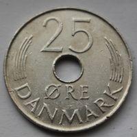 Дания, 25 эре 1974 г