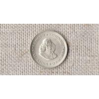 ЮАР / южная африка / 5 центов 1963  /серебро/состояние/(Ст)