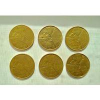 Монеты-6шт