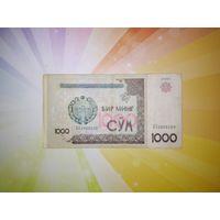 Узбекистан 1000 сум 2001г
