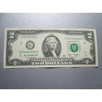 2 доллара США 2009 г., G 04424849 A, AU