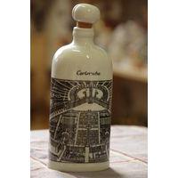 Бутылка фарфоровая   19 см     ЦЕЛАЯ