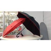 Зонт складной красный Цептер