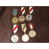 Спортивные награды СССР 6 штук , старт с рубля