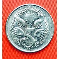 13-29 Австралия, 5 центов 1981 г.