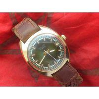 Часы ПОЛЕТ 2614 ПОЗОЛОТА AU10 из СССР 1980-х
