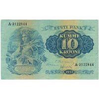 Эстония 10 крон 1937 года.
