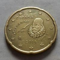 20 евроцентов, Испания 2014 г.