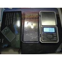 Цифровые карманные весы MH-200; 200g/0,01g! Новые.