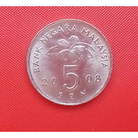 63-26 Малайзия, 5 сен 2008 г. Единственное предложение монеты данного года на АУ