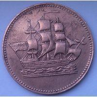 Остров Принца ЭДУАРДА 1 цент 1837 год