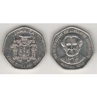 Ямайка km164 1 доллар 2006 год (al)(f14)*