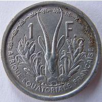 Фр. Экваториальная Африка 1 франк 1948 (а)
