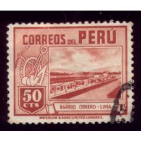 1 марка 1938 год Перу