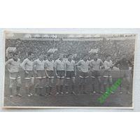 Футбол Динамо Минск 1960-е  фото 10х17 см