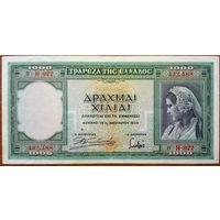Греция 1000 драхм 1939 год, Р110.