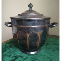 Старинная ёмкость сосуд ваза контейнер чаша для изготовления и хранения продуктов марки MANNING BOWMAN & Co Редкость