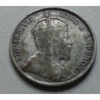 Стрейтс Сетлментс 10 центов 1910 г.