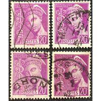 ЦІКАВІЦЬ АБМЕН! 1938, Мэркурый, 20 цэнтаў