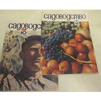 """Журнал """"Садоводство""""  N 10, N 11 за 1963 год"""