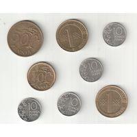 Набор монет Финляндии