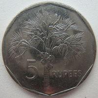 Сейшельские острова 5 рупий 2010 г. (m)