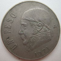 Мексика 1 песо 1971 г. (d)
