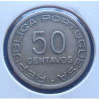 Мозамбик Португальская колония 50 центаво 1936
