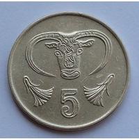 Кипр 5 центов. 1991