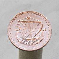 Кипр 5 центов 1972