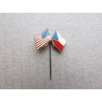 Знак Чехословакия Америка