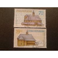 Чехия 2006 деревянное зодчество 15-16 век полная серия